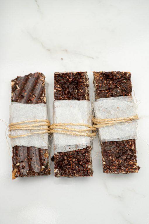 Cacao Granola Bars